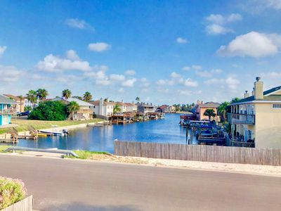 Photo for *Coastal Condo with Deck and Water View* Island living!
