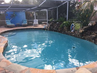 Photo for REDUCED $2500 a month April-Aug w/solar heated pool in Sandpiper Club