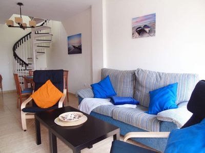 Photo for Miraya apartment in Torre del Mar with WiFi, air conditioning, private parking, private terrace & b…