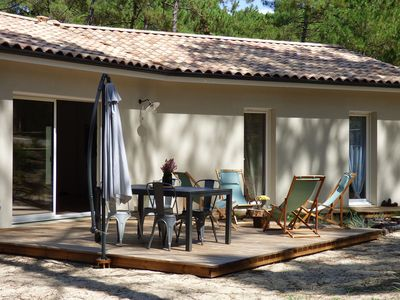 Photo for Independent Holiday Home in Gironde with private garden