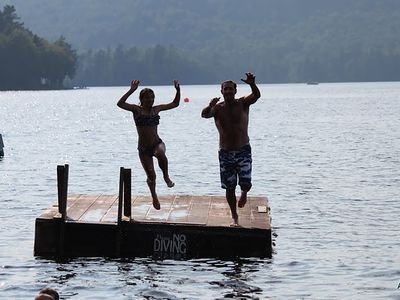 Photo for Camp Chipperchich...lakeside cabin on Otter Lake