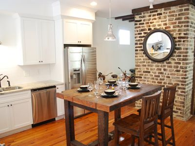 Photo for Beautifully restored Charleston single with charm and character!
