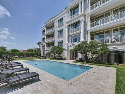 Photo for Oceanfront Executive Condo - Custom Built and Professionally Decorated - Gated Community - Pool
