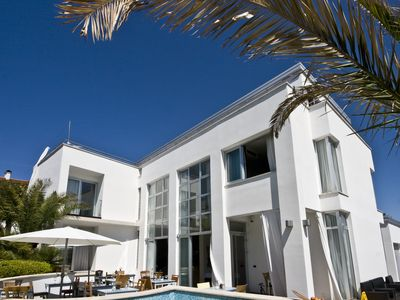 Photo for Luxurious villa in a prime location just 60 meters from the pebble beach