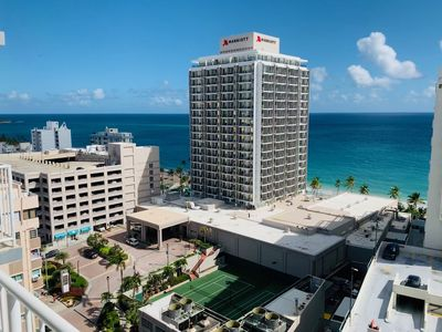 Photo for Amazing Ocean View Studio (King Bed/WIFI) in prime Condado
