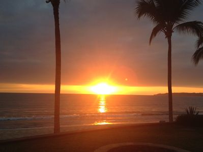 Another breathtaking sunset over Banderas Bay!