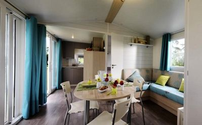 Photo for Residential Camping La Pinède **** - Mobile home Grand Large 3 Rooms 6 People Vacation