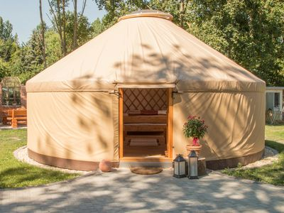 Photo for Modern yurt Herbsleben