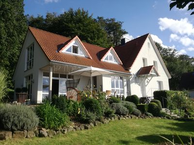 Photo for Appartment idyllic sunny, quiet location, near the forest, panoramic view