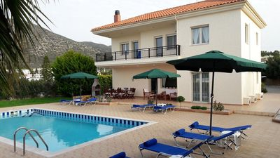Photo for VILLA ANNA, 4 bedroom family villa with private pool in Old Hersonissos