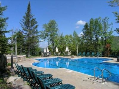 Photo for Only 4 Star Tremblant Resort with 2 Pools and Tennis!