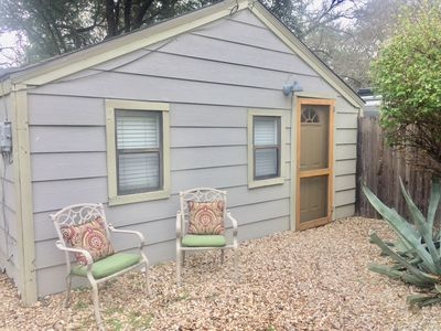 Photo for Private, Fenced Garden Cottage at UT and Downtown with Off Street Parking