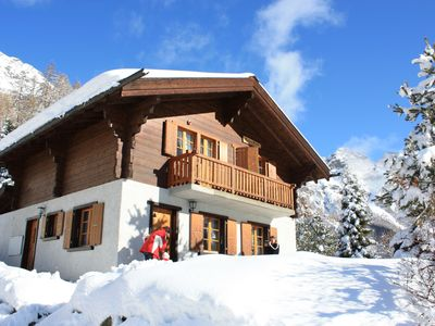 Photo for Family chalet with a fantastic view