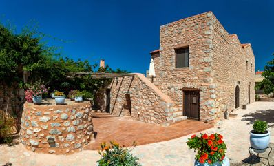 Photo for Stone built studio for 3,Olive Grove,Near Beach,Mani 2