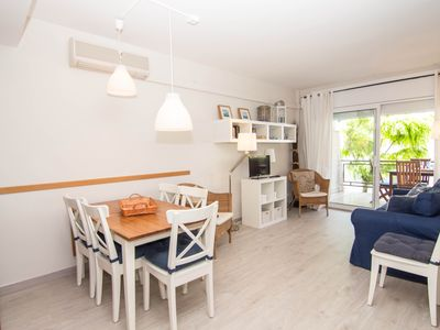 Photo for LIGHTHOUSE Bright apartment in a residential area close to the center of Sitges.