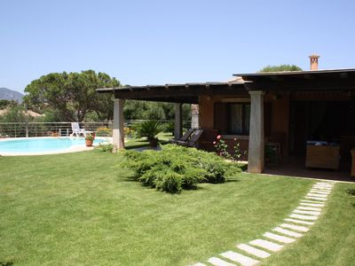 Photo for Villasimius Sardinia, Villa with pool 150 meters from the sea in Cala Caterina