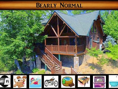 Photo for Bearly Normal - Hot Tub / WiFi / Foosball / 5 min to Pigeon Forge