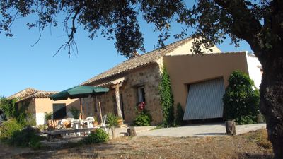 Photo for 15 minutes from Cordoba stone house in meadow of 120 Ha with small castle
