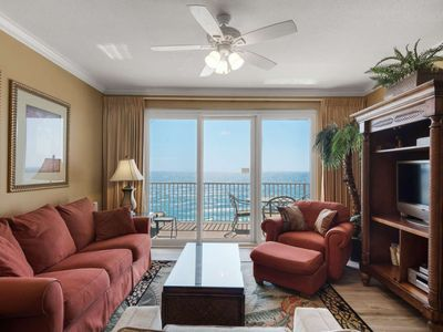 Photo for Gulf Front Master!  Located in the heart of PCB! Wifi and Tickets to GulfWorld!