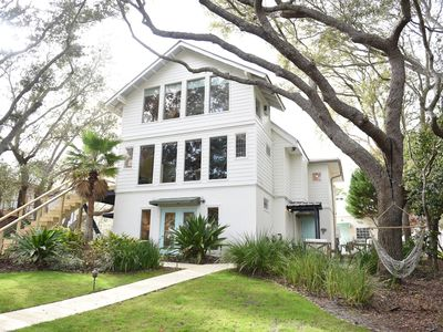 Photo for 6BR Dune Lakefront Beach House w/ Private Pool & Golf Cart - Close to Beach