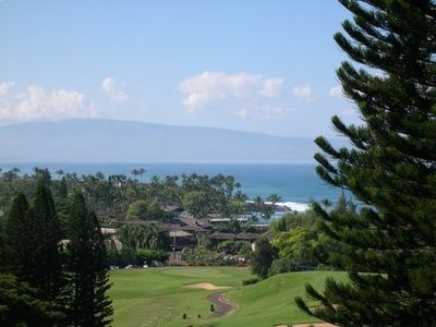Ocean view toward Island of Lanai