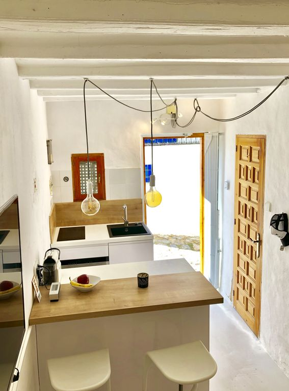 Modern Oldtown Loft / Rooftop: Ibiza Old Town Loft with Rooftop / AC ...