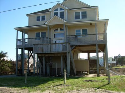 Photo for Family Friendly Canal Front Beach Home--Pet Friendly/Hot Tub/Rec room