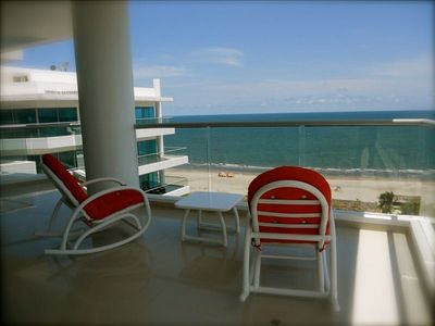 Relax on the balcony with expansive views of the beautiful Caribbean