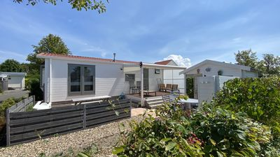 Photo for Four-person holiday chalet at Holiday Park Julianahoeve in Renesse