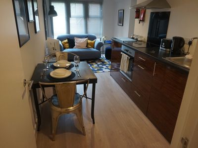 Photo for Toothbrush Apartments - Small 1 Bed Apartment - Foundry Lane, Ipswich Waterfront