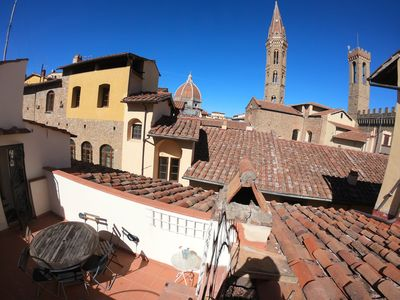 Photo for Lovely Rooftop with Terrace - Heart of Florence-