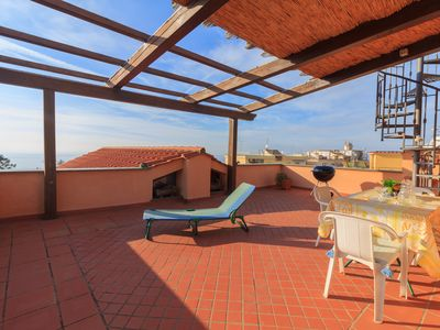 Photo for Casa Felicità - In the center of Massa Lubrense - With terrace overlooking the sea