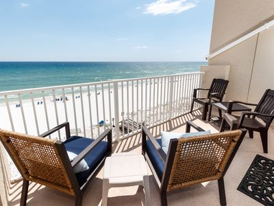 Photo for Gulf Side Unit 602 PET FRIENDLY GULF FRONT! Awesome Gulf Front Condo!