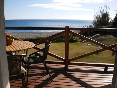 Photo for semi-detached two foor flat. Frontline on the beach in Estepona, Bahia Dorada.
