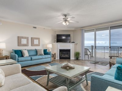 Photo for Ocean's Mist 301 - Oceanfront on the Boardwalk!