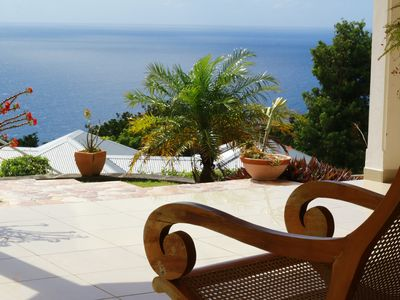 Photo for A HAVEN OF PEACE IN AN EXCEPTIONAL VILLA FACING THE ARCHIPELAGO OF THE HOLY