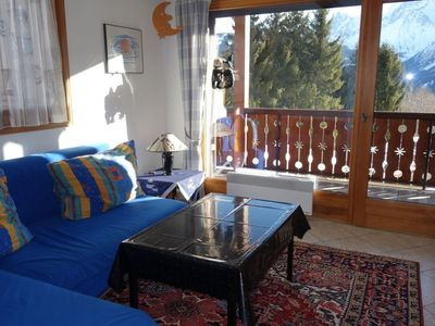 Photo for Apartment in Saint-Gervais-les-Bains with Parking, Internet, Balcony (102451)