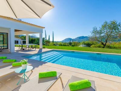 Photo for CAN PARRA - Villa with sea views in Puerto de Andratx.