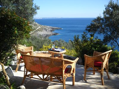Photo for Primaluce, exclusive villa overlooking the sea, with fabulous views