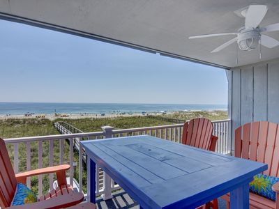Photo for Winds I 2A - Fantastic ocean front condo with pool