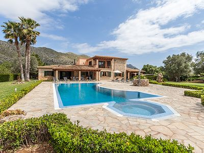 Photo for Villa Oliva for 10 guests, just 3km to the beaches of Cala St. Vicente, Mallorca!