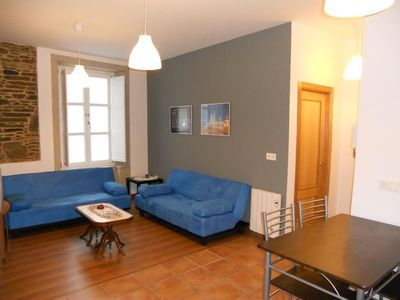 Photo for Apartment in the center of Santiago de Compostela with Washing machine (393436)