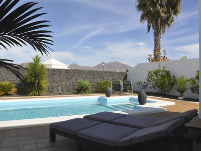 Photo for NEW: Charming villa overlooking the volcano and the sea