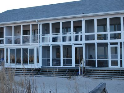 Photo for Oceanfront, located on one of Delawares most beautiful beaches.