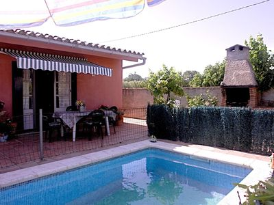 Photo for Stylish Holiday Home in Sant Miquel de Fluvià with Pool