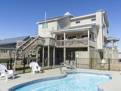 Photo for Free Spirit - 6 Bedroom oceanfront home with ocean and harbor views