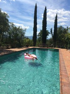Photo for Superb hunting estate (1850) fully renovated, 25 hectares, pool