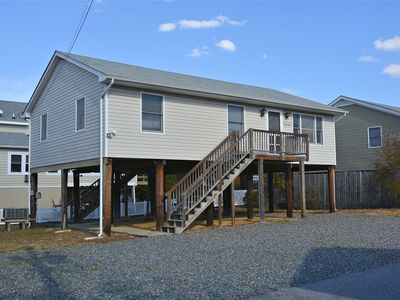 Photo for FREE DAILY ACTIVITIES!  Located 4 houses off the beach this 3 bedroom, 2 bath beach house