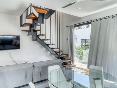 Photo for Beautiful minimalist penthouse w/ private pools, grill, balcony, and concierge!
