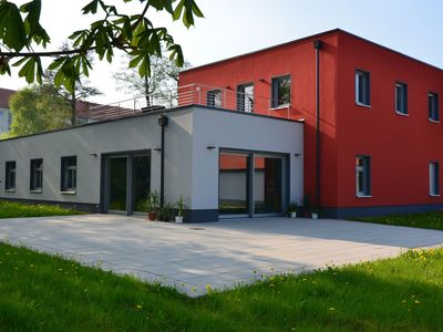 Photo for Modern holiday apartment with roof terrace in the Thuringian Forest region